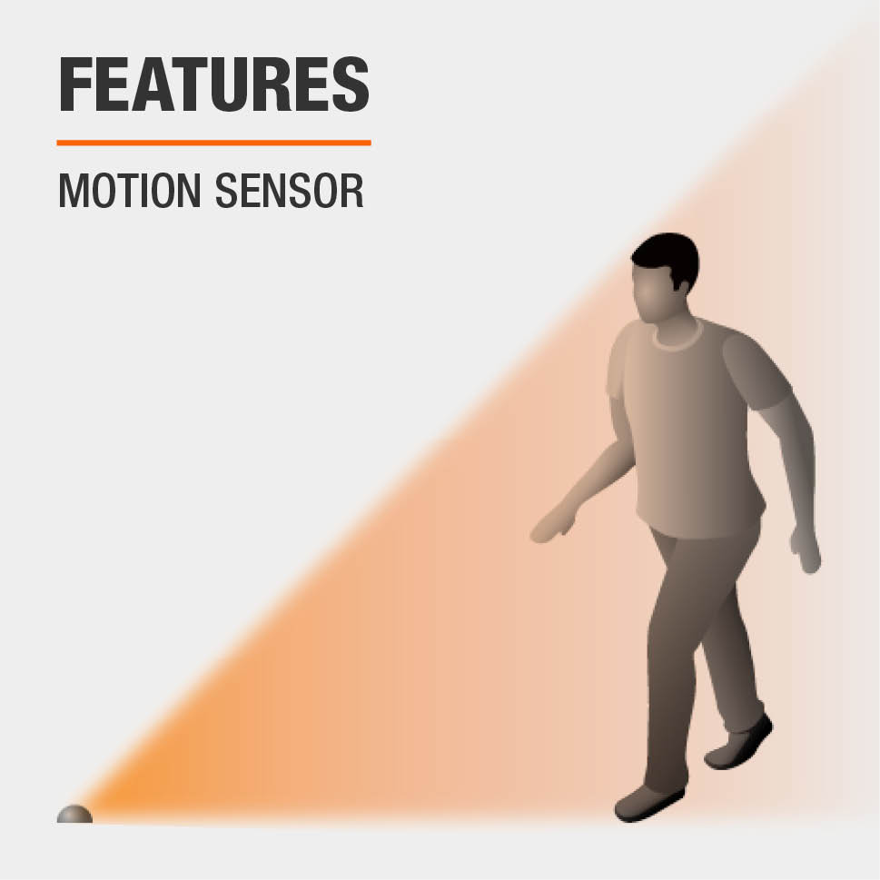 This item has motion sensors