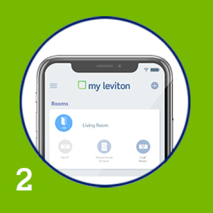 2) Download the My Leviton app