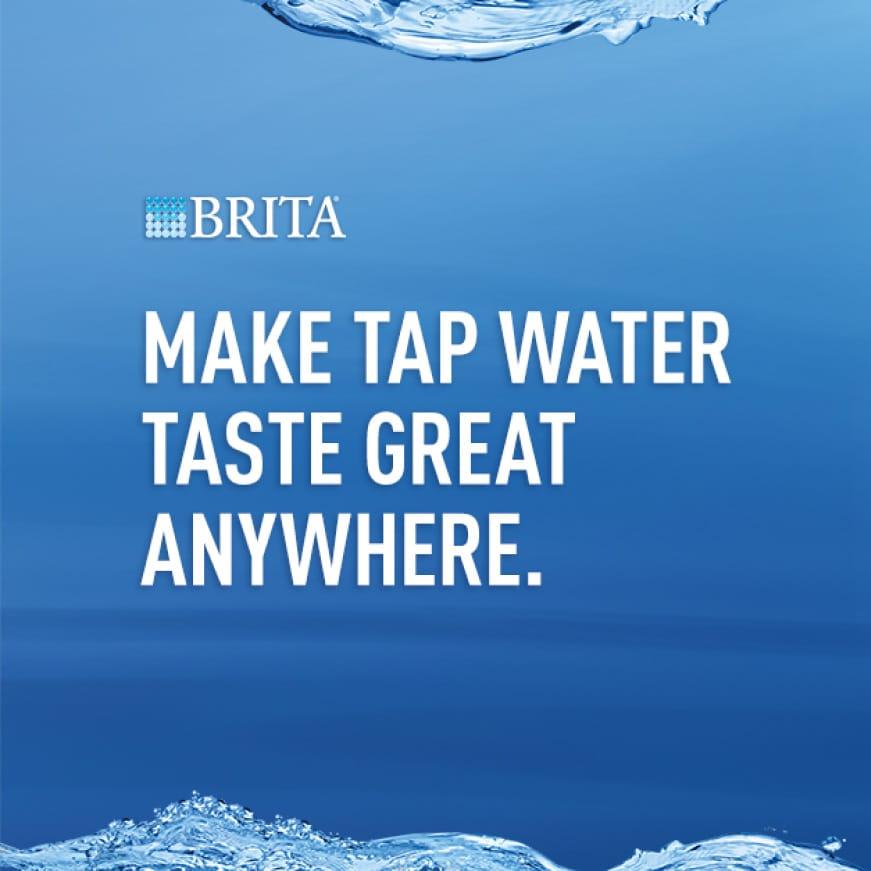 Make Tap Water Taste Great Anywhere.