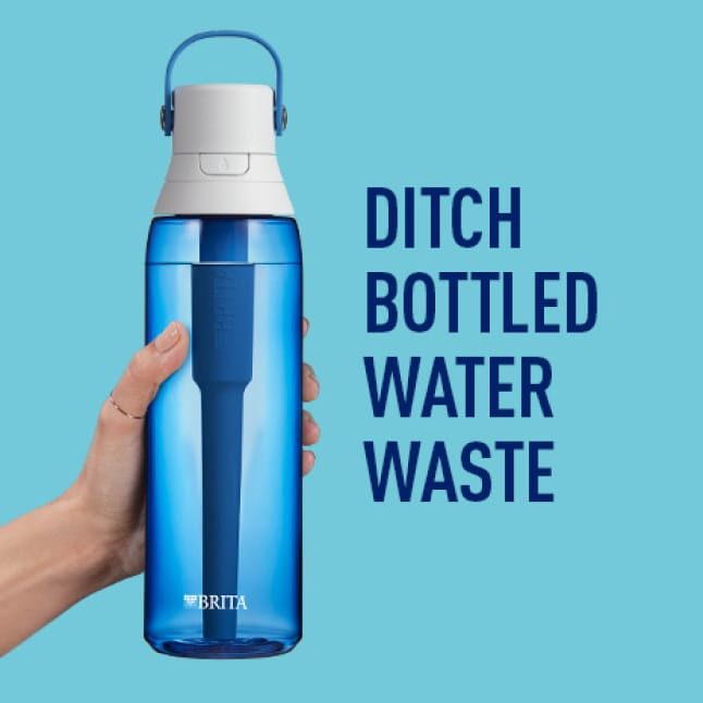 Ditch bottled water waste.