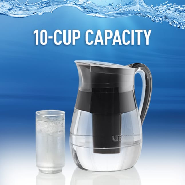 10-cup capacity.