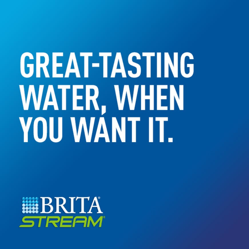 Great-tasting Water, When You Want It