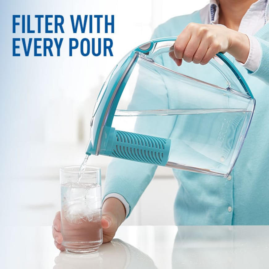 Filter with every pour.