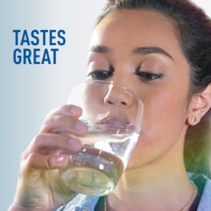Tastes great.