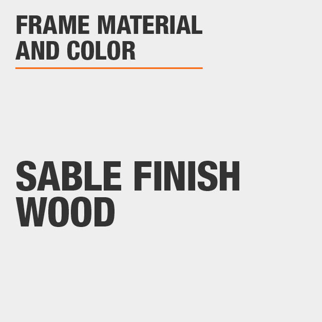 Upholstered Counter Stool with Sable Finish Wood Frame