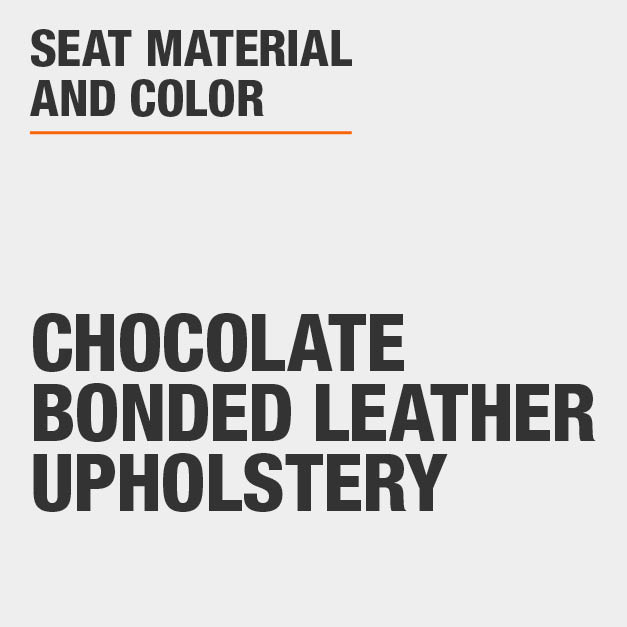 Collection with Chocolate Bonded Leather Upholstery
