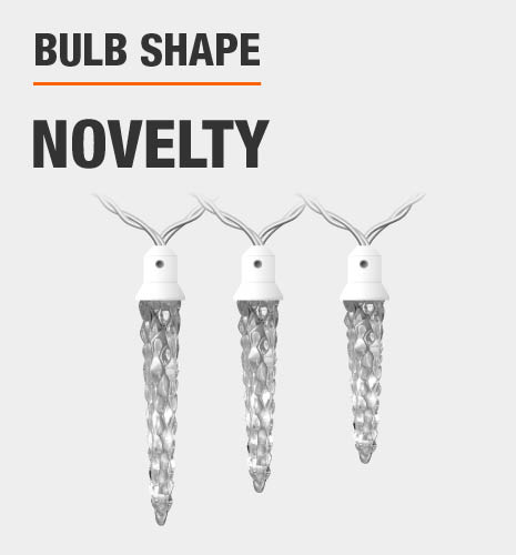 The bulb shape is novelty