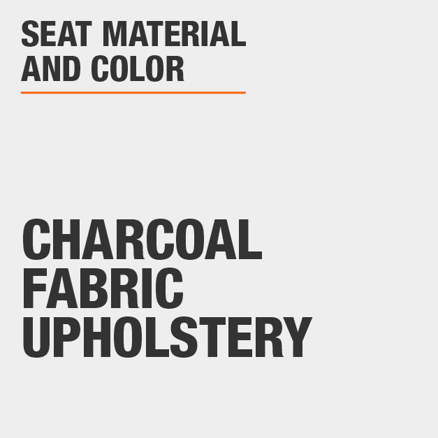 Collection with Charcoal Fabric Upholstery