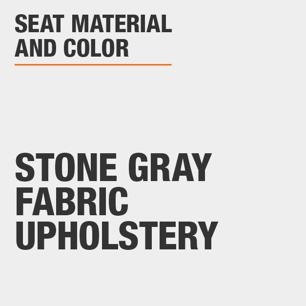 Collection with Stone Gray Fabric Upholstery