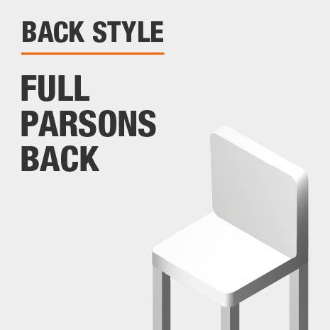 Back Style Full  Parsons  Back