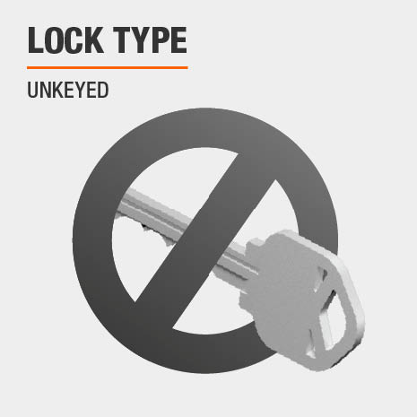 Lock Type is Unkeyed