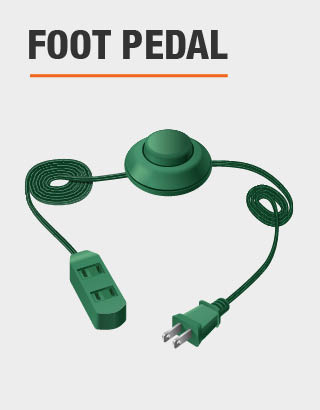 This product includes foot pedal