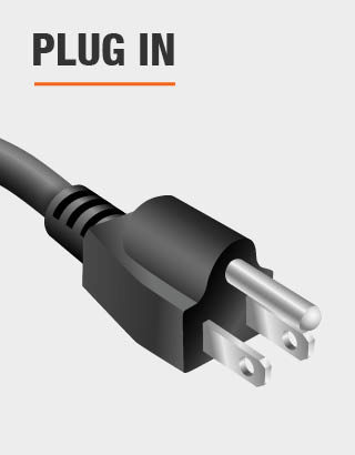 This product is powered by plug-in outlet