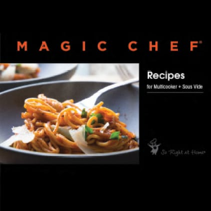 Included recipe book has 15 delicious recipes