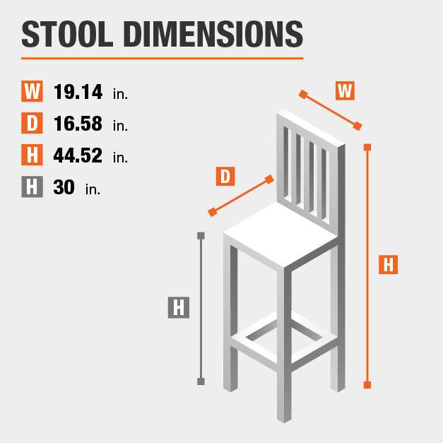 Bar Stool Dimensions