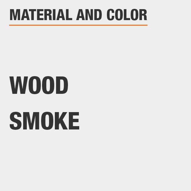 Smoke Wood Rectangular Dining Table