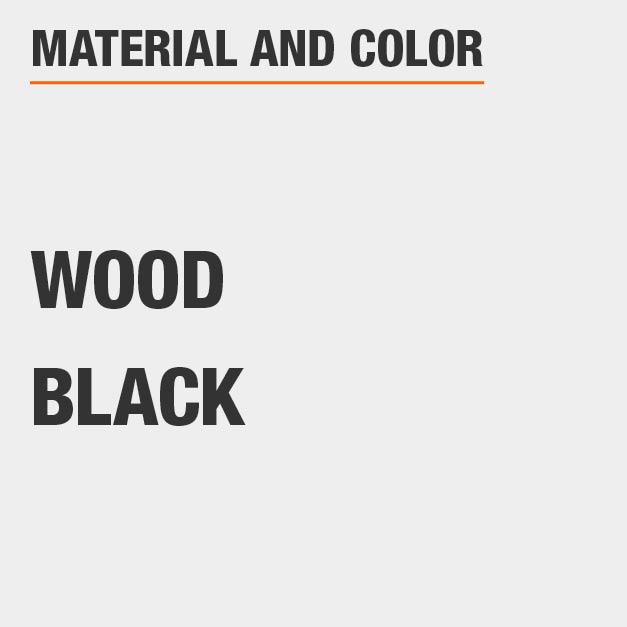 Black Wood Dining Chair Set