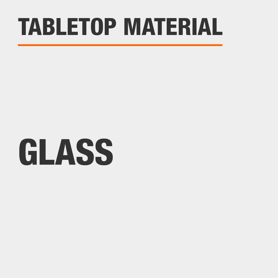 Tabletop Material Glass