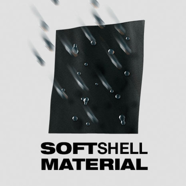 SOFTSHELL High Loft Insulation is built with high loft insulation and a quilted softshell design