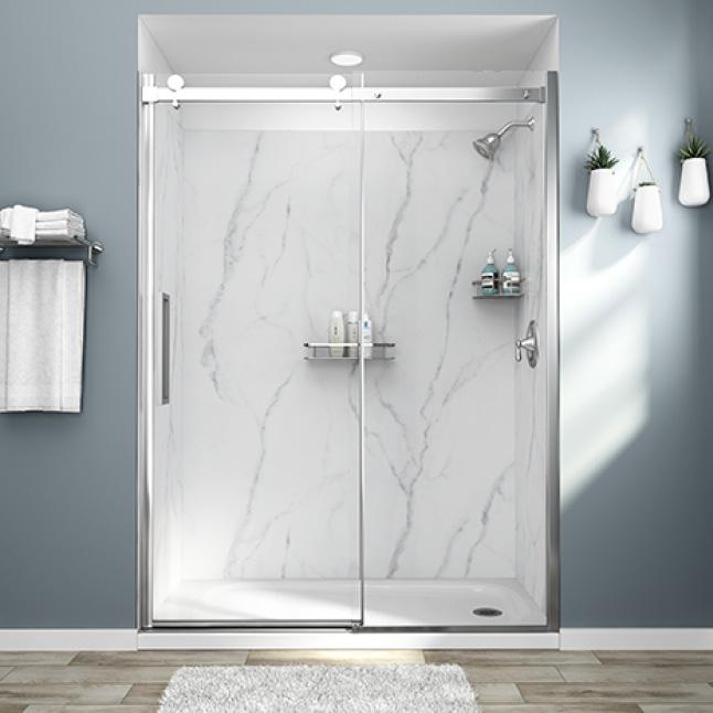 Passage Serene Marble Total Shower Solution