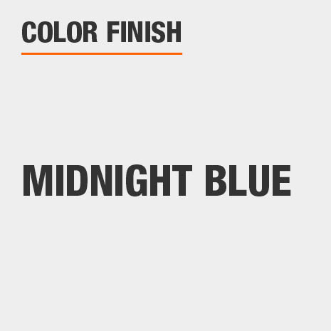 This bathroom vanity mirror color finish is Midnight Blue