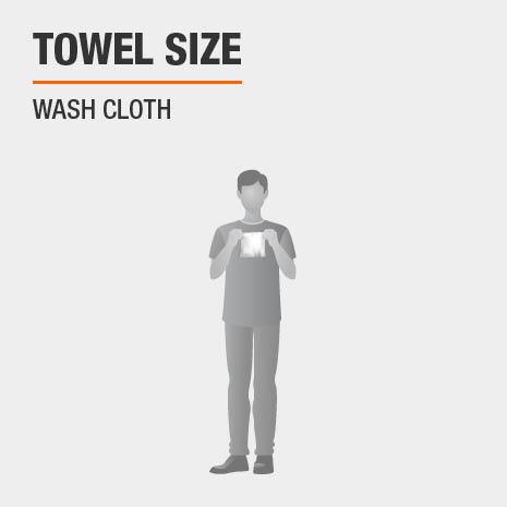 Wash Cloth Size