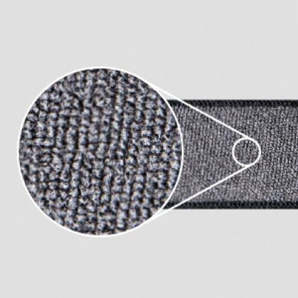 Sweat absorbing microfiber strap