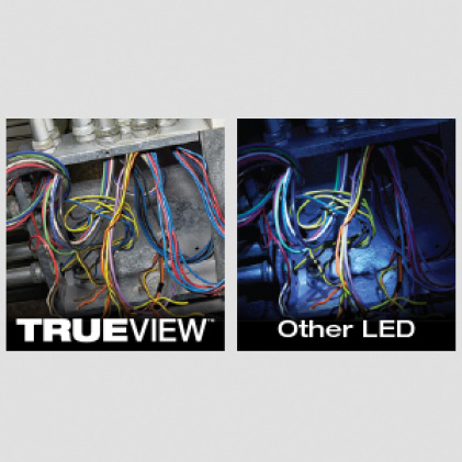 600 Lumens of TRUEVIEW High Definition Output
