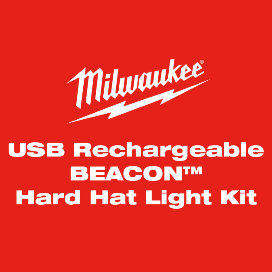 USB Rechargeable BEACON Hard Hat Light combines exceptional hands-free task lighting with an innovative, BEACON personal safety light.