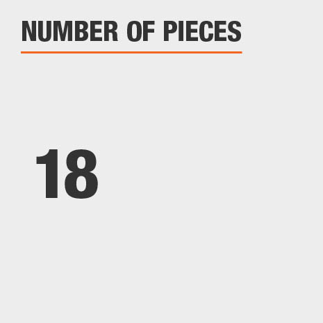 Number of Pieces 18