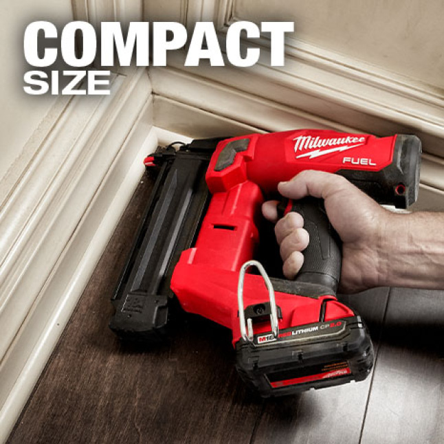 Reduced size for increased access in corners and tight spaces