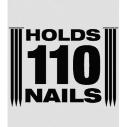Magazine Capacity – 110 Nails