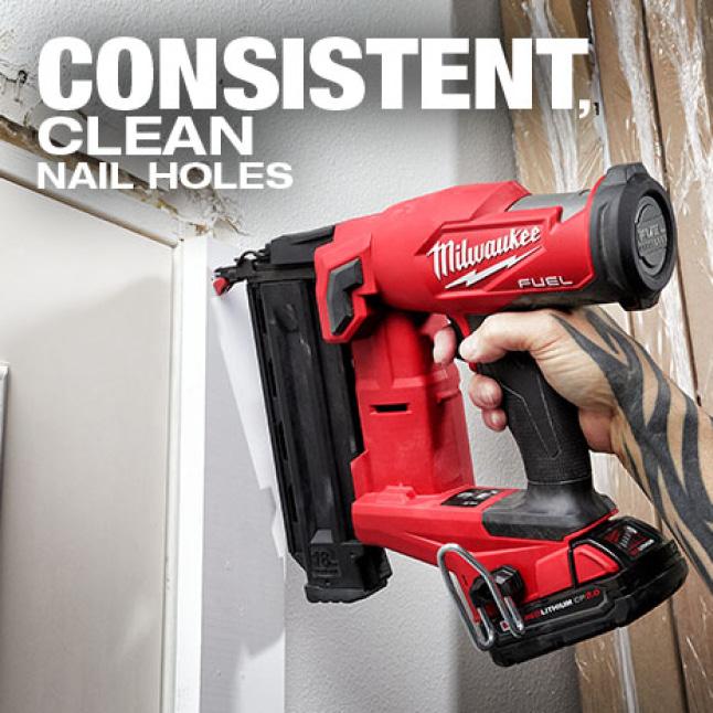 Consistently drives nails sub flush