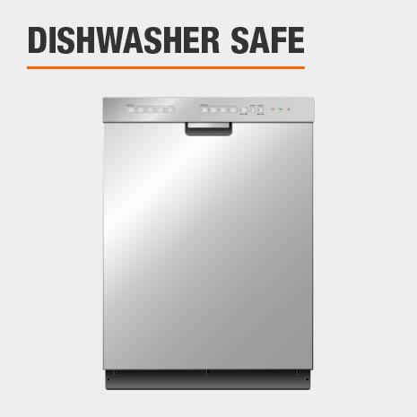 Dinnerware set is dishwasher safe
