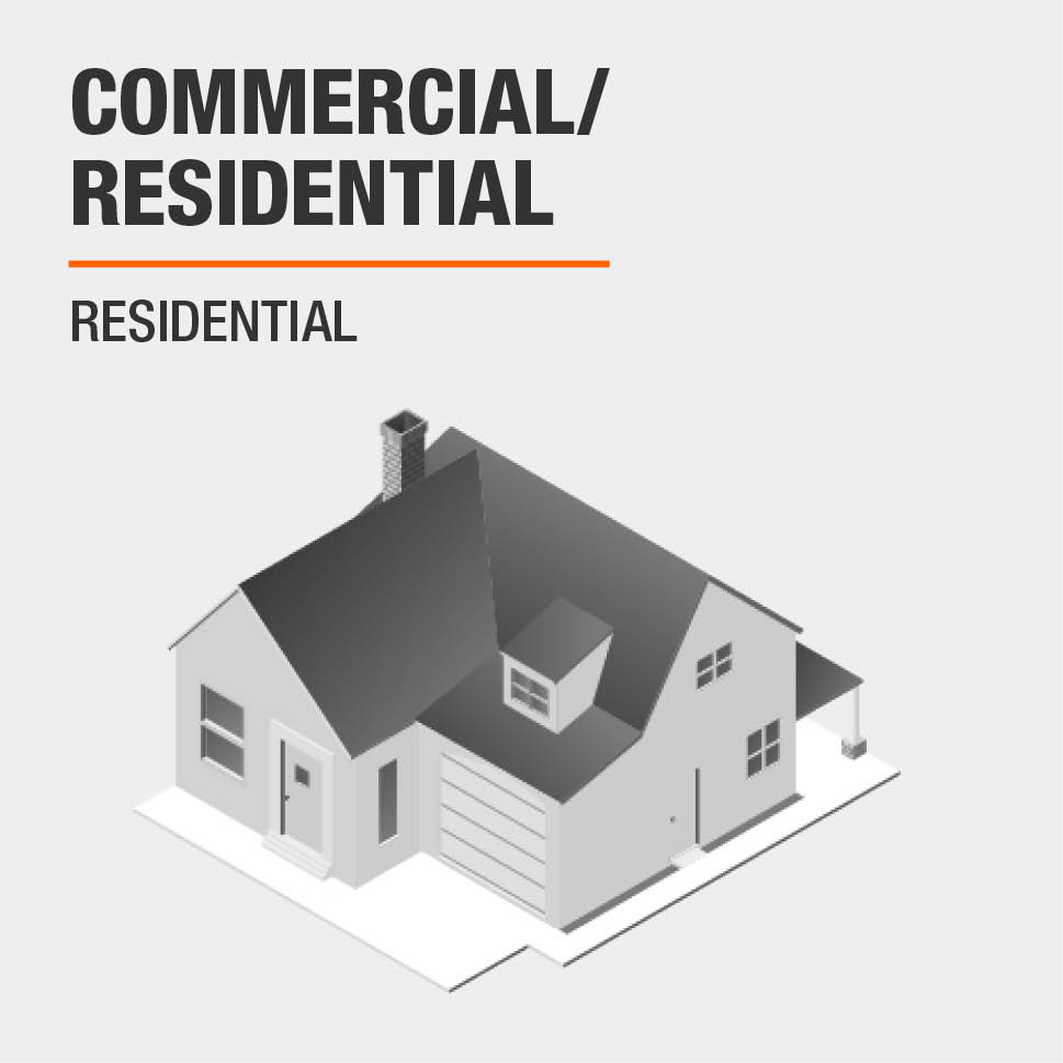 Commercial/Residential  Residential