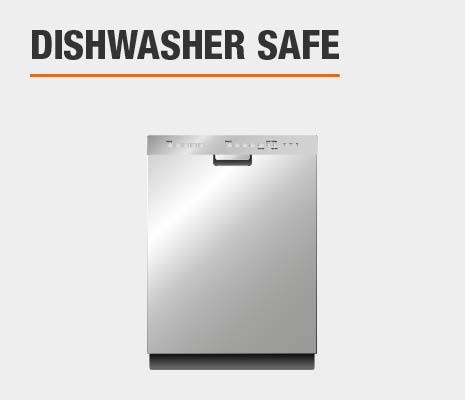 Drinkware set is top-rack dishwasher safe