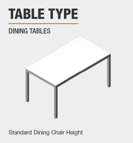Table Type, Chair Height