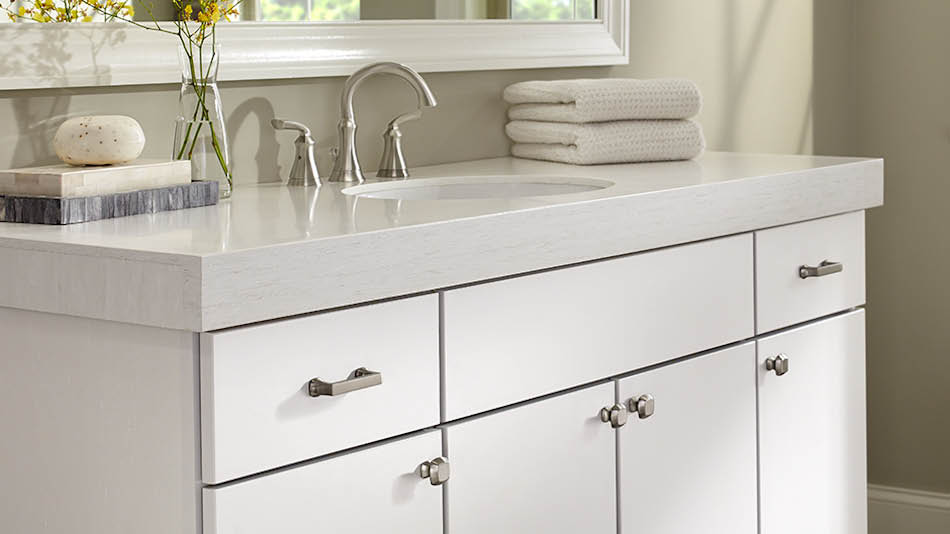 Liberty Modern Farmhouse 1 7 16 In 36 Mm Satin Nickel Cabinet Knob P40133c Sn Cp The Home Depot