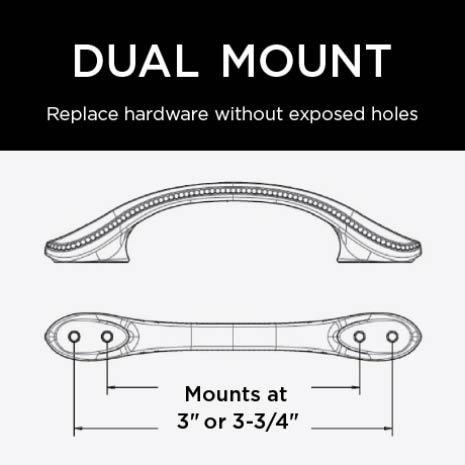 Dual Mount Installation for flexibility