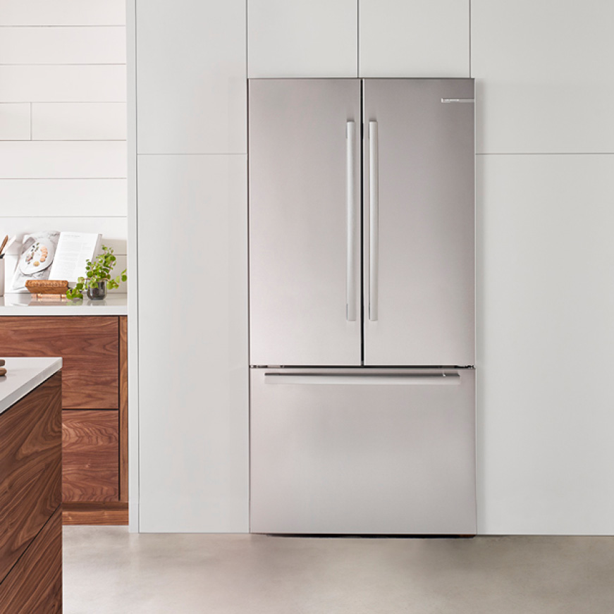 Bosch 3-Door Stainless Steel Quality Refrigerator B36CT80SNS