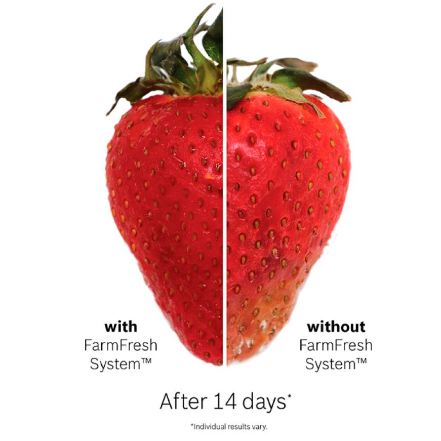 Bosch Refrigerators Revolutionary FarmFresh Food Preservation System