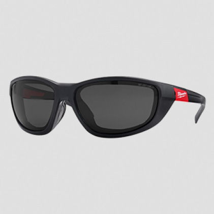 Clear or polarized Milwaukee safety glasses available