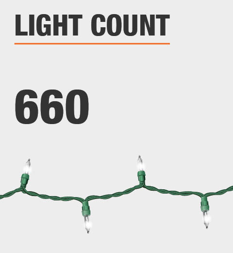 The light count is 660