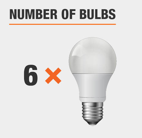 This light has 6 bulbs.