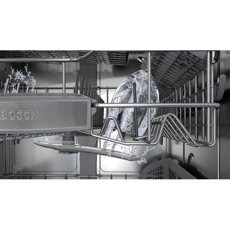 Bosch 800 Series Top Control Tall Tub Pocket Handle Dishwasher In Stainless Steel With Stainless Steel Tub Crystal Dry 42dba Shpm78z55n The Home Depot