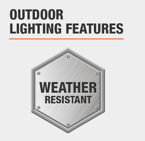 This is a Weather Resistant light.
