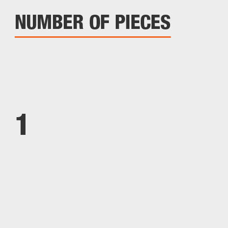 Number of Pieces 1