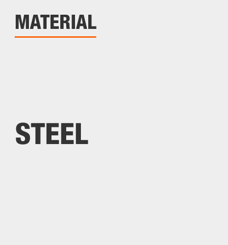 The material is steel.