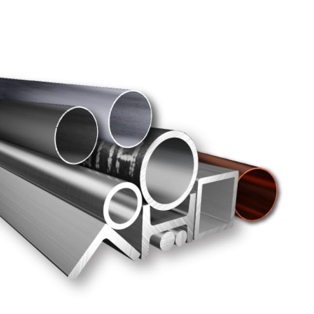 This is an image of stainless steel, cast iron pipes, and other metal material applications.