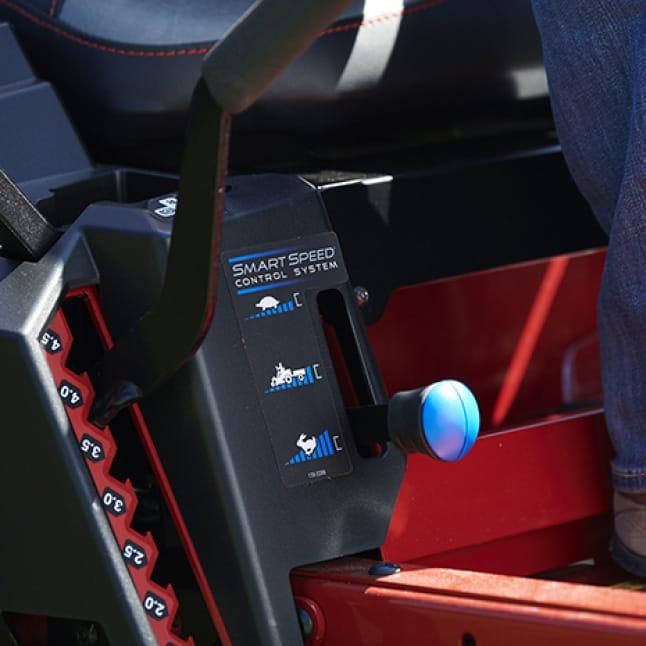 close-up image of smartspeed